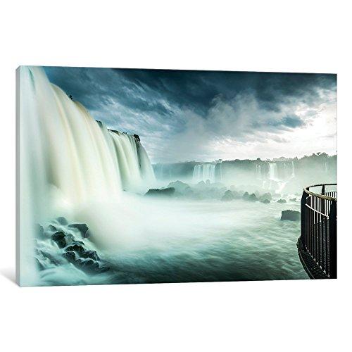 National Park Iguacu - iCanvasART iCanvas Iguazu Falls, Iguazú (Argentina) and Iguaçu National Park (Brazil), South America Gallery Wrapped Canvas Art Print by Panoramic Images, 26