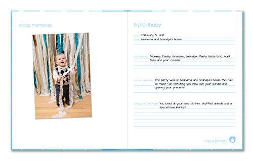 Pearhead Modern Dots Baby Book Pearhead Babybook Modern Dots