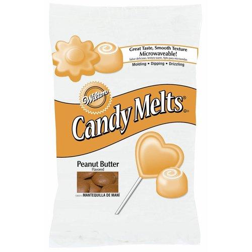 Melt Peanut Butter (Wilton 1911-1516 Peanut Butter Candy Melts, 12-Ounce, Brown)