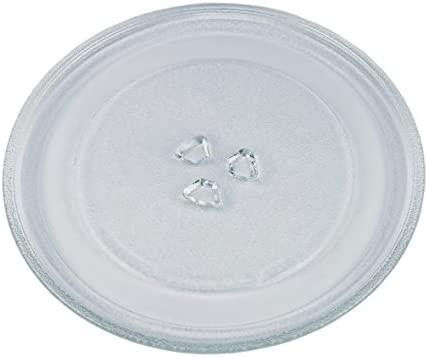 Plato giratorio universal de cristal liso de 245 mm para ...