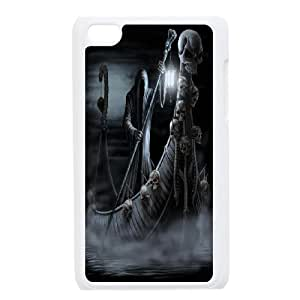 JamesBagg Phone case skull art pattern protective case FOR IPod Touch 4th FHYY481075