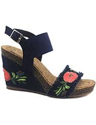 VeganBio Linda 005 Wedge Sandal