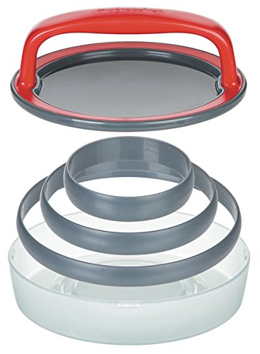 Prep Solutions by Progressive Patty Press -  5 Piece Set Hamburger Patty Press