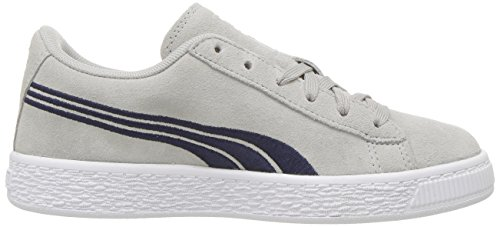 Suede Sneaker Kids' Badge peacoat Gray Classic Puma Violet UB5qA5