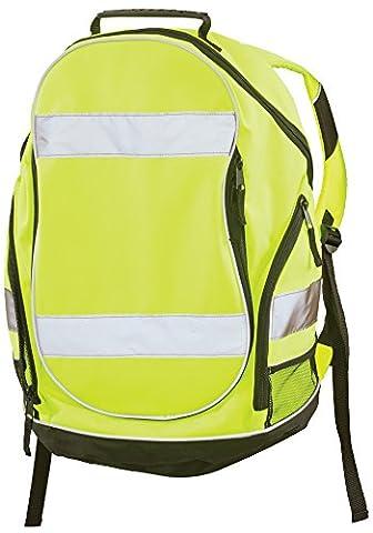 ERB Safety Products 29003 BP1 Hi Viz Backpack, 19