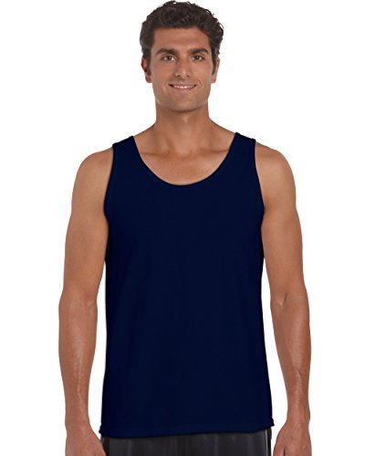 Gildan 2200- Classic Fit Adult Tank Top Ultra Cotton - First Quality - Navy - 2X-Large