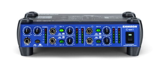 Samson C-que8 4-Channel Headphone Amplifier