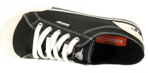 Laced Jazzin Sneaker Nero Dog Scarpe Nuovo Canvas Bianco Rocket Donna Stivali SFwY5xqS1