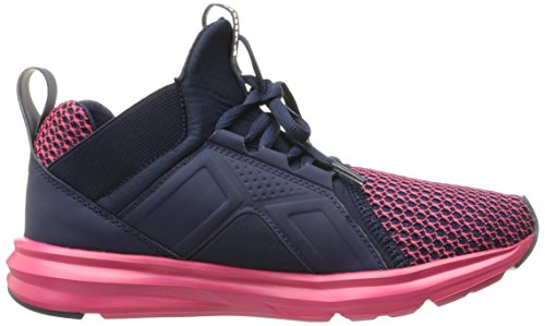 Puma Womens Enzo Shift Wns Cross-Trainer Shoe Peacoat-sparkling Co