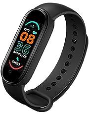 Smart Horloge M6 Fitness Tracker Armband Horloge Ondersteuning Hartslag Bloeddruk IP67 Waterdichte Activiteit Trackers Horloge Zwart