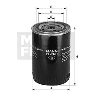 Mann-Filter W 950/71 Filtro de Aceite