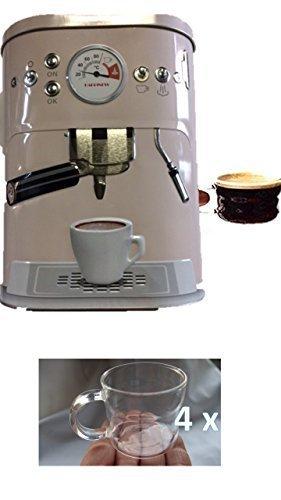 Bote De Café Poder de estaño Latas de reserva con 3D Motivo máquina café Bote retención