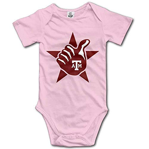 Gig Em Aggies Texas Thumb Baby Onesies Infant Baby Boy Summer Clothes Romper One Piece