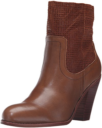 Woven Tumbled Women's Como Bootie Leather Corso Tobacco Ankle Harvest PBpYw0q