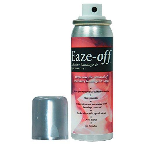 - Mill Pledge Eaze-Off Adhesive Bandage Tape Remover 50ml Non Toxic Non Stinging