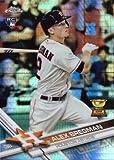 #6: 2017 Topps Chrome Prism Refractor #9 Alex Bregman Baseball Rookie Card
