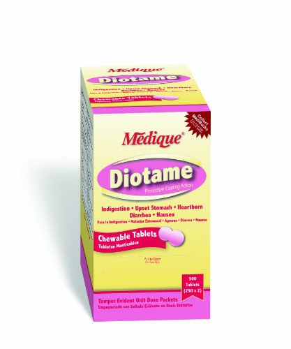 Medique Products 22013 Diotame Tablets, 250-Packets of ()