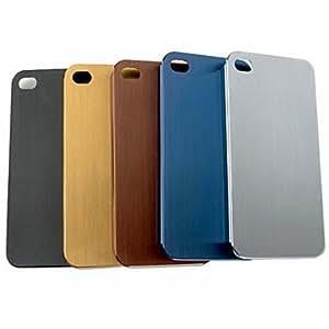 ZCLTitanium Alloy Back Case for iPhone 5/5S(Assorted Color) , Blue