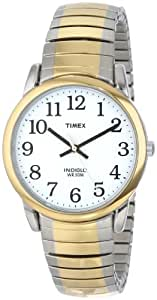 """Timex Men's T23811 """"Easy Reader"""" Two-Tone Stainless Steel Expansion Bracelet Watch"""