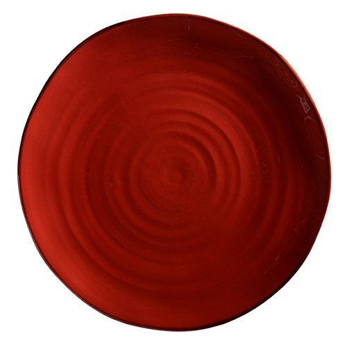 Italian Dinnerware – Dinner Plate – Handmade in Italy from our Rosso Collection