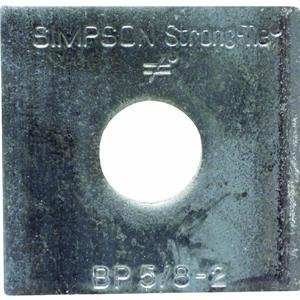 UPC 044315371301, Simpson Strong-Tie BP 5/8-2 Bearing Plate (Pack of 250)