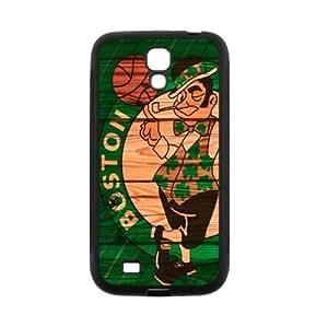 Boston Celtics Logo Theme Back TPU Case for Samsung Galaxy S4 i9500-by Allthingsbasketball