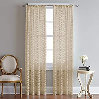 63 CHF Lyric Curtain Panel Antique