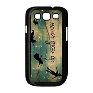 Peter Pan Never Grow Up Classic Custom Hard Protective Back Case Cover for Samsung Galaxy S3 I9300