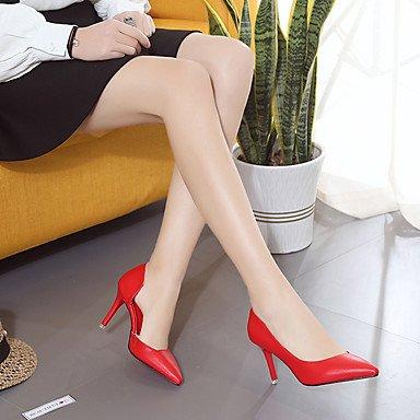 US6 2A 3 talón EU37 confort vestimenta Confort CN37 Verano 2 pulg 7 PU UK4 4 negro Tacones Ruby mujer 5 5 5 casual Stiletto Primavera nx7R6zqT