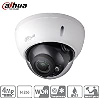 For Dahua IPC-HDBW4431R-AS 4MP Dome Network IP Camera H.265 PoE IP67 ONVIF Night Vision Support Audio & Alarm 2.8mm Lens International Version
