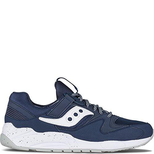 Saucony Originals Men's Grid 9000 Heritage Running Shoe, Nav