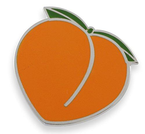 Peach x Eggplant x Splash Enamel Pin Set (Individual Peach Pin)