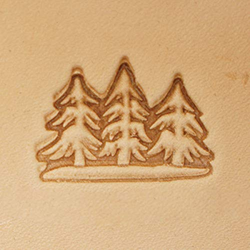 Springfield Leather Company 3 Trees 3D Leather - Springfield Tree