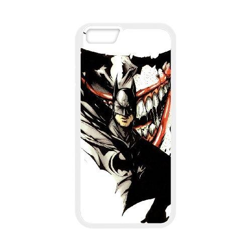 Batman Joker coque iPhone 6 4.7 Inch Housse Blanc téléphone portable couverture de cas coque EBDOBCKCO09215