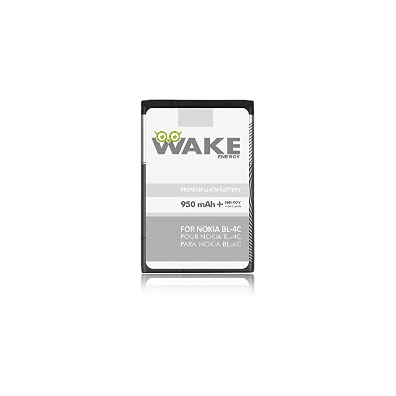 WAKE OEM Battery for Nokia BL-4C Cell Ph