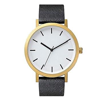 Vazan - Relojes de Mujer Casual Relojes de Pulsera de Cuarzo para Mujer Marca de Lujo Simple de Cuero [9]: Amazon.es: Deportes y aire libre