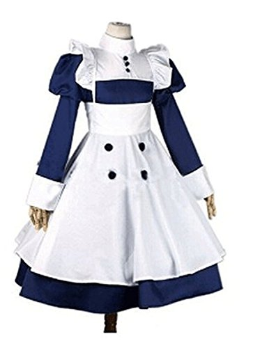 Black Butler Mey-rin Maid Uniform Cosplay Costume Customize Cosplay -