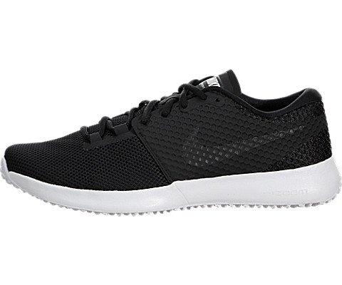 Nike Men's Zoom Speed Tr2 Black/Black/White Running Shoe 9 Women US