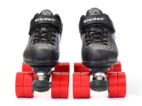 Riedell Skates Dart Roller Skate,Black,12