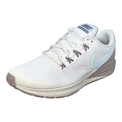 Nike Women's Air Zoom Structure 22 Running Shoe (7.5, Sail/Teal Tint/Moon Particle)