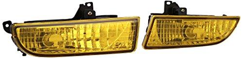 Spec-D Tuning LF-PL97AM-RS Honda Prelude Type Sh/ Base Fog Lights Amber ()