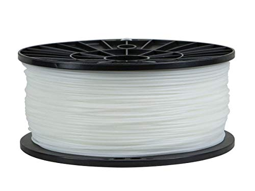 Monoprice PLA 3D Printer Filament - White - 1kg Spool, 1.75mm Thick | | For All PLA Compatible Printers (Iii Remanufactured Laser)