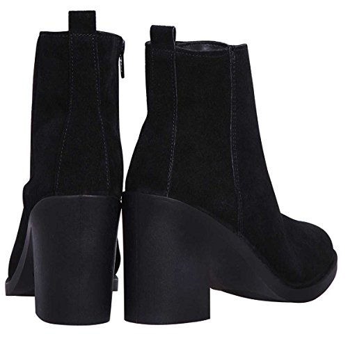J. by Janiko ALEXI JBA001 Femmes Ankle Boots High-top Noir YLSRtkC8gT