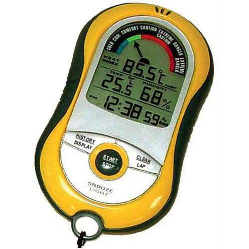 Heat Index Stopwatch - Multi-Function Heat Index Warning System by SkyScan, Ti-plus
