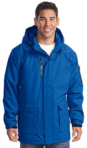 Port Authority Men's Waterproof Heavyweight Hooded (Heavyweight Hooded Parka)