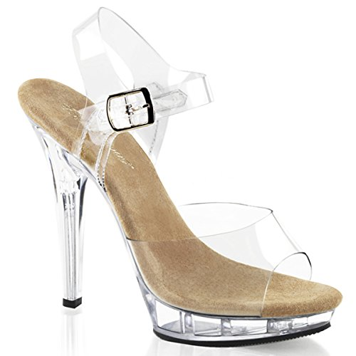 High Heels Sandalette, Damen, Transparent (transparent) Transparent (transparent)