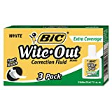 Wite-Out Extra Coverage Correction Fluid, 20 ml