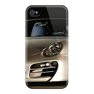 Rugged Skin Cases Covers For Iphone 5/5S- Eco-friendly Packaging(techart Porsche)