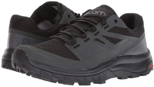 [サロモン] レディース 女性用 シューズ 靴 スニーカー 運動靴 Outline GTX(R) - Phantom/黒/Magnet [並行輸入品]  10 B - Medium