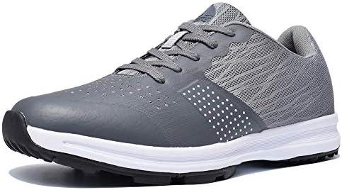 Thestron Men's Golf Shoes Walking